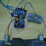 DC motor speed control using gyro