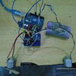 DC motor speed control using gyro