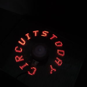 Arduino POV Display