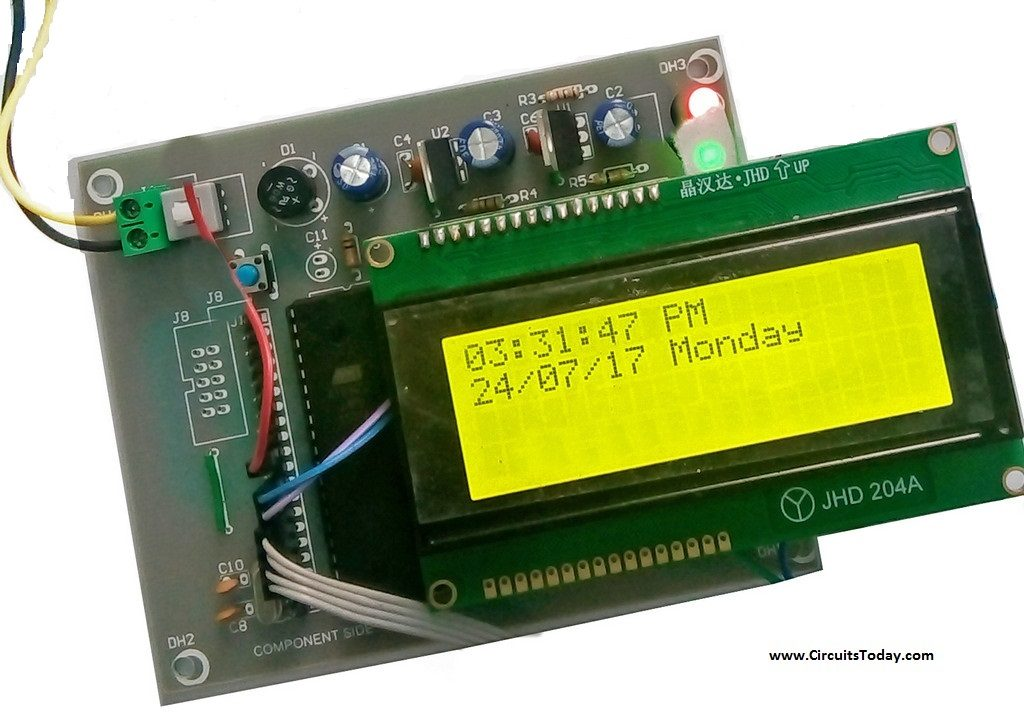 Real Time Clock 8051