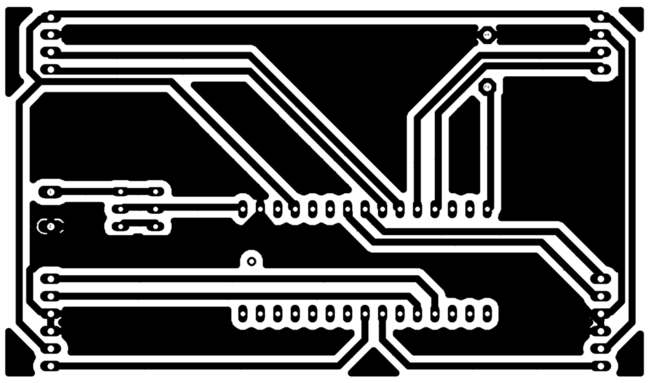 Automatic Railway Gate Control - PCB Design