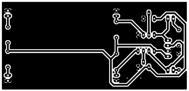 Automatic Railway Gate Control System Project - PCB Design