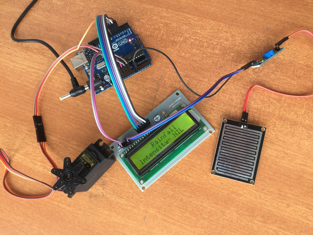 Rain Sensing Wiper Using Arduino And Servo Motor Wiring Automatic Car