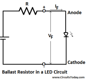 Ballast Resistor in a LED Circuit