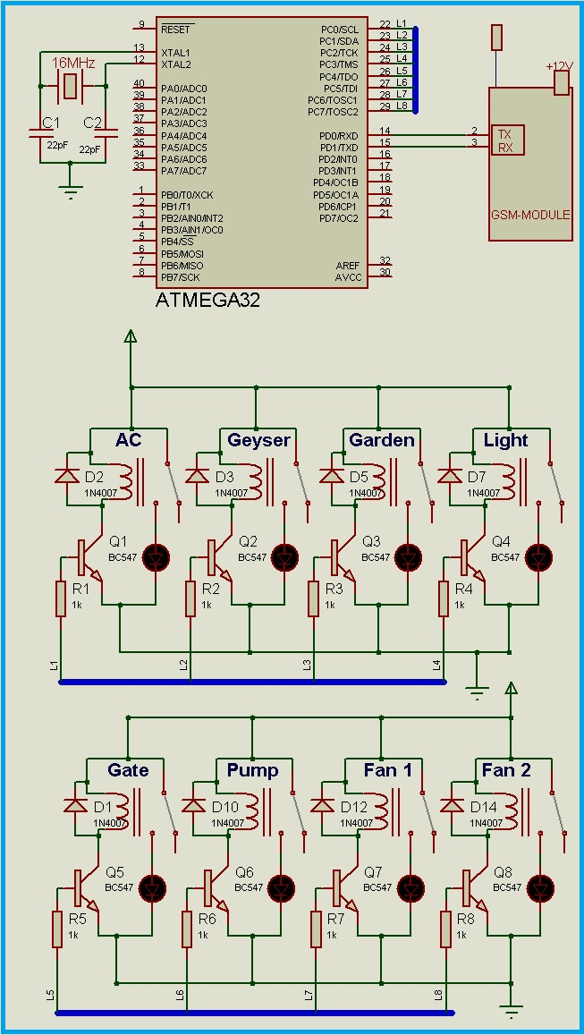 Pic Controlled Relay Driver Circuit Diagram - Wiring Diagram Article