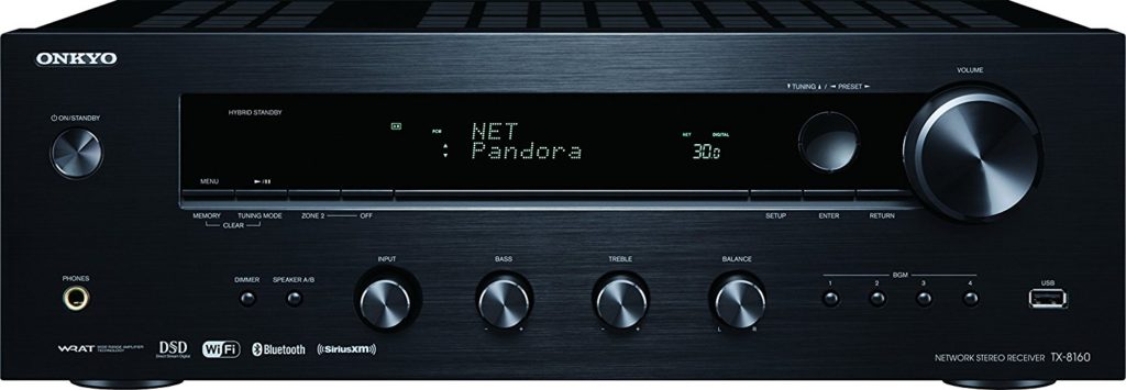 Onkyo TX-8160 Network Stereo Receiver – Review