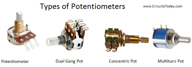 Potentiometer Types