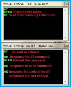 Turning Off the Echo mode
