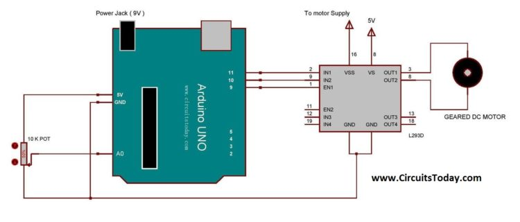 Arduino 3v power