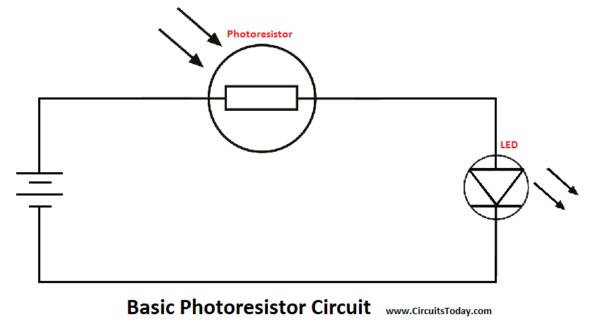 Basic Photoresistor Circuit