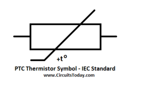 PTC Thermistor Symbol