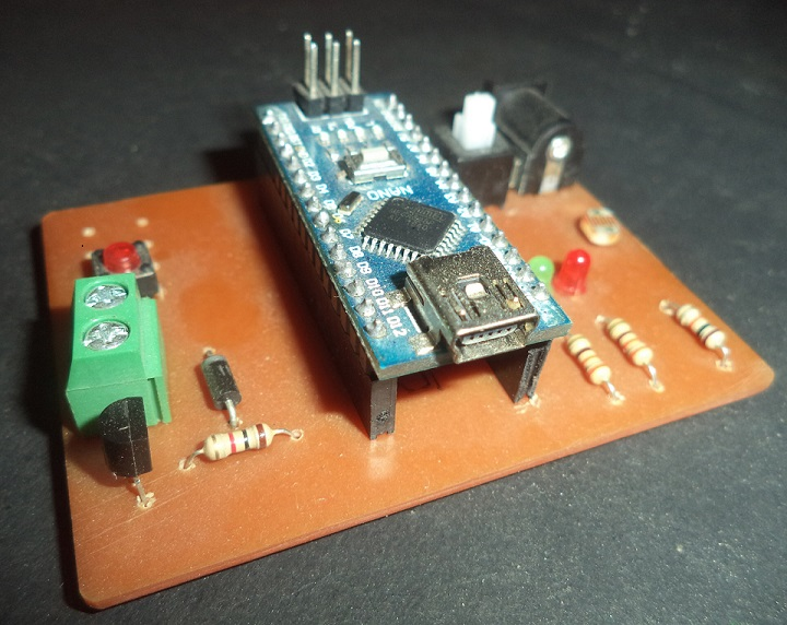 Arduino Based Auto Intensity Control Of Street Light