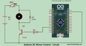 Arduino DC Motor Speed Control