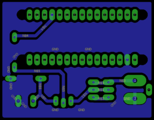Arduino-PWM DC Motor Control - PCB Design