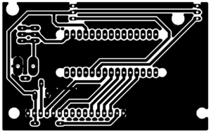 Car Speed Detector using Arduino - PCB Design