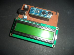Circuit to measure speed of car