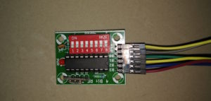 Encoder connected to RF Transmitter