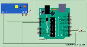 Gesture Controlled Mouse - Receiver Circuit