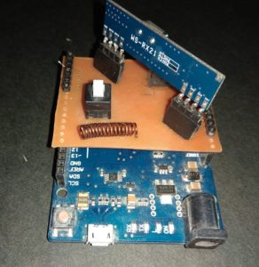 Hand Gestured Mouse Circuit Using Arduino & Accelerometer