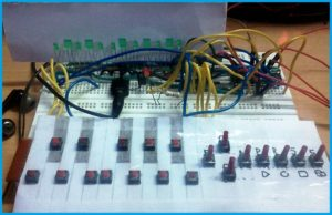 Hardware Presentation - Musical Keyboard Using Atmega8