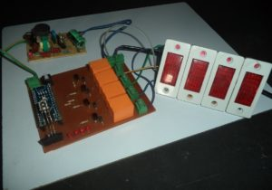Home Automation Circuit Using IR Remote