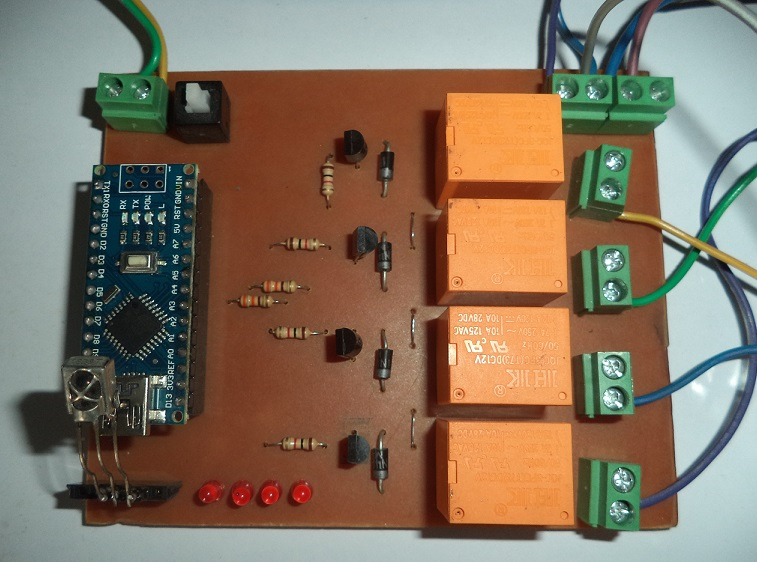 Home Automation Connection with Relays