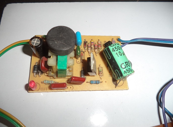 IR Remote Controlled Home Automation Circuit