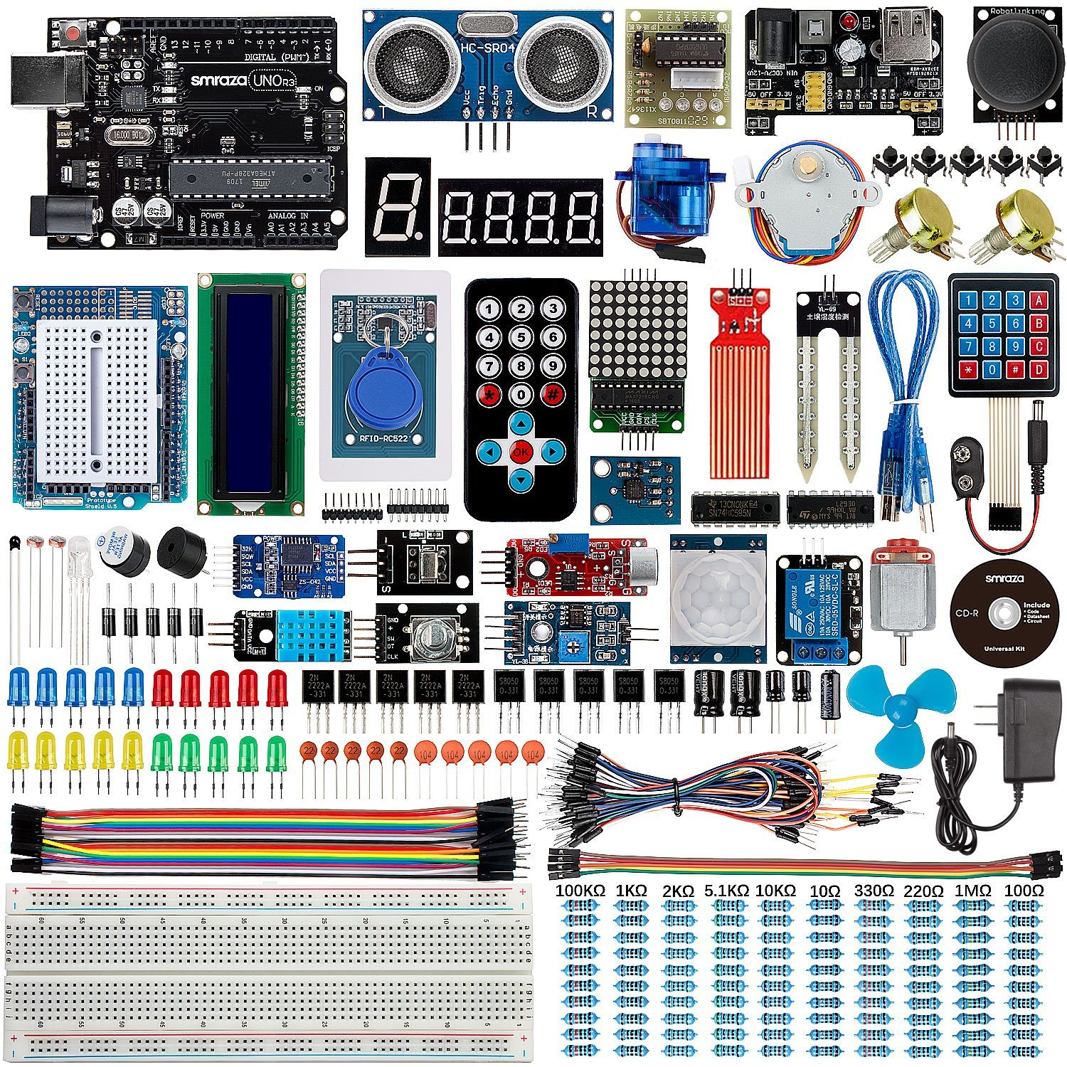 Best arduino starter kit for beginner uno r
